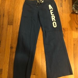Navy Aeropostale sweatpants
